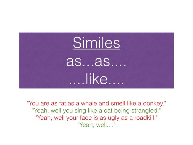 比喻  Similes