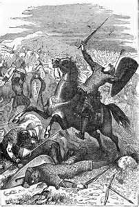 Death of Harold at the Battle of Hastings 1066 (Boston: J.R. Spaulding & Co., 1901))