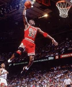 Michael Jordan Playing for Chicago