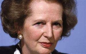Margaret Thatcher, British Prime Minister