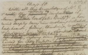 Jane Austen's 'Persuasion' Manuscript