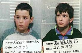 The police photographs of the young suspects became infamous