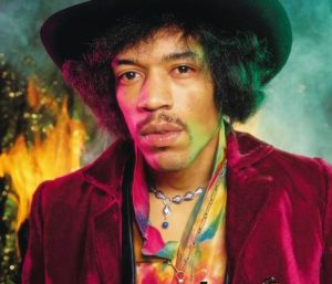 Jimi Hendrix, photographed by David Montgomery