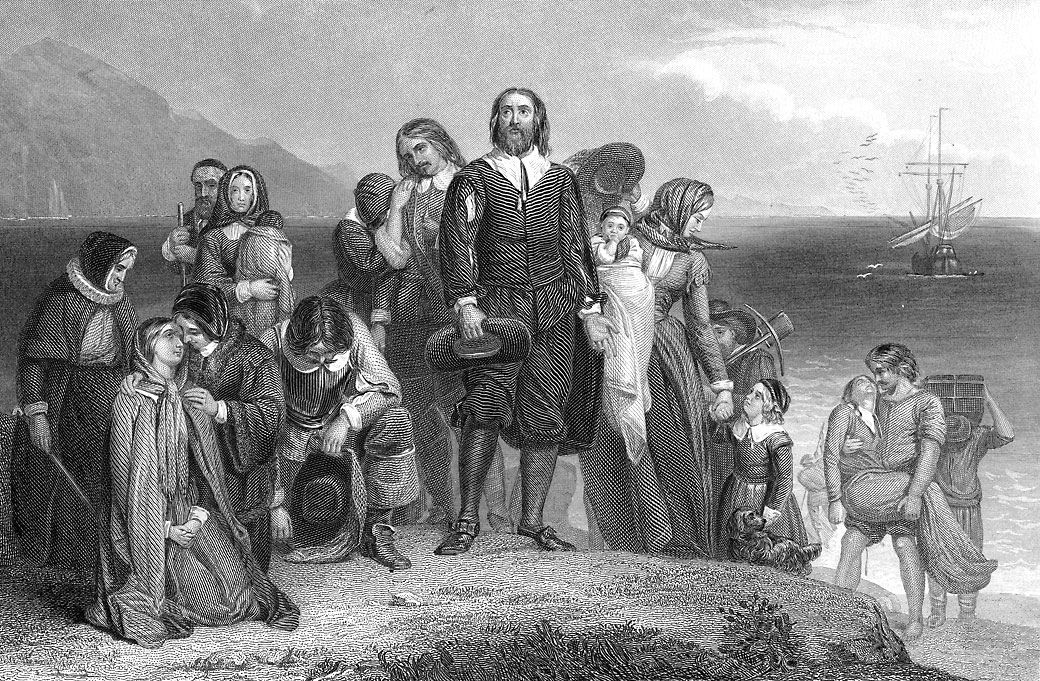 The crew of the Mayflower explored in November 1620, then established a colony in March 1621