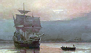 The Mayflower's journey to America took three months