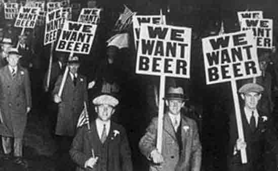 Prohibition was very unpopular with the working class