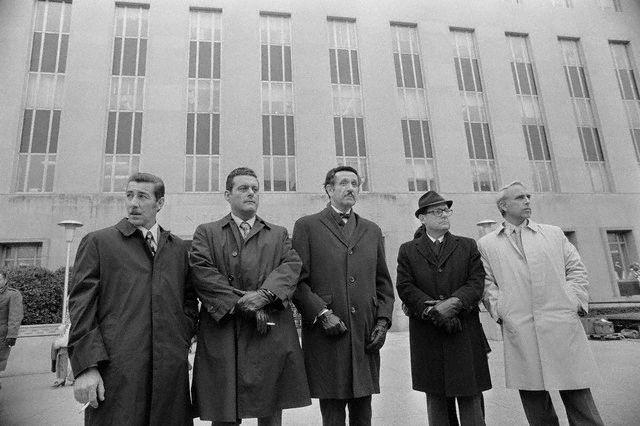 The Watergate burglars and lawyers