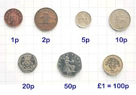 The selection of new coins were based on 10s and 100s
