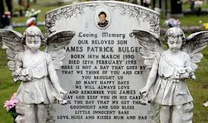 James Bulger is buried in Liverpool