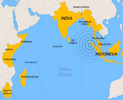The earthquake struck just west of Indonesia, but affected the entire Indian Ocean
