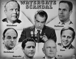 The Watergate investigation began to link back to Nixon