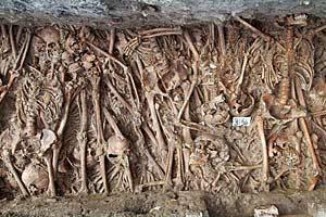 A plague pit