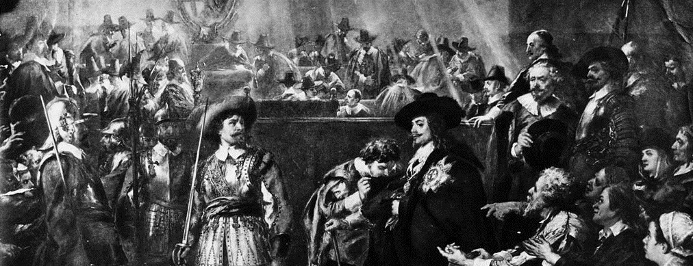 Charles I is sentenced to death
