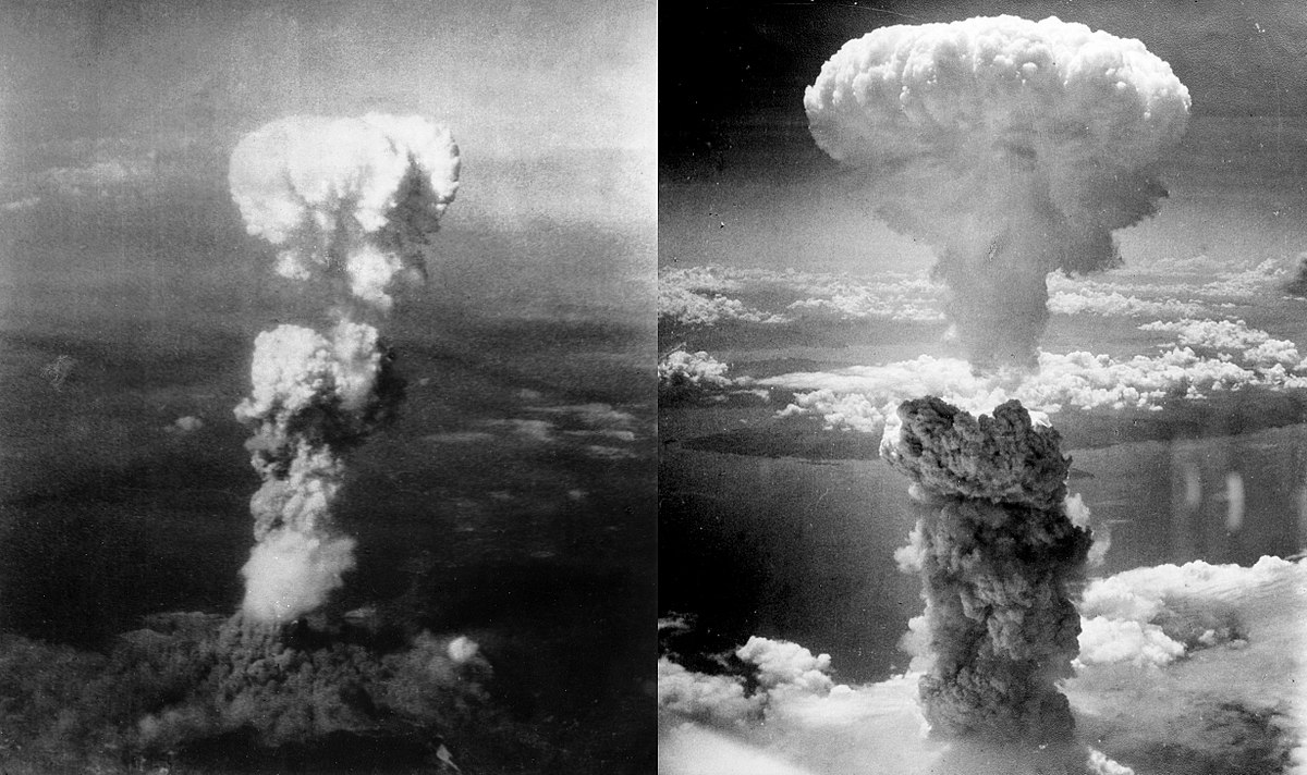 The atomic bombs at Hiroshima and Nagasaki put an exclamation point on the world's deadliest conflict