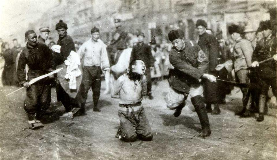 Japanese soldiers led a brutal occupation in China
