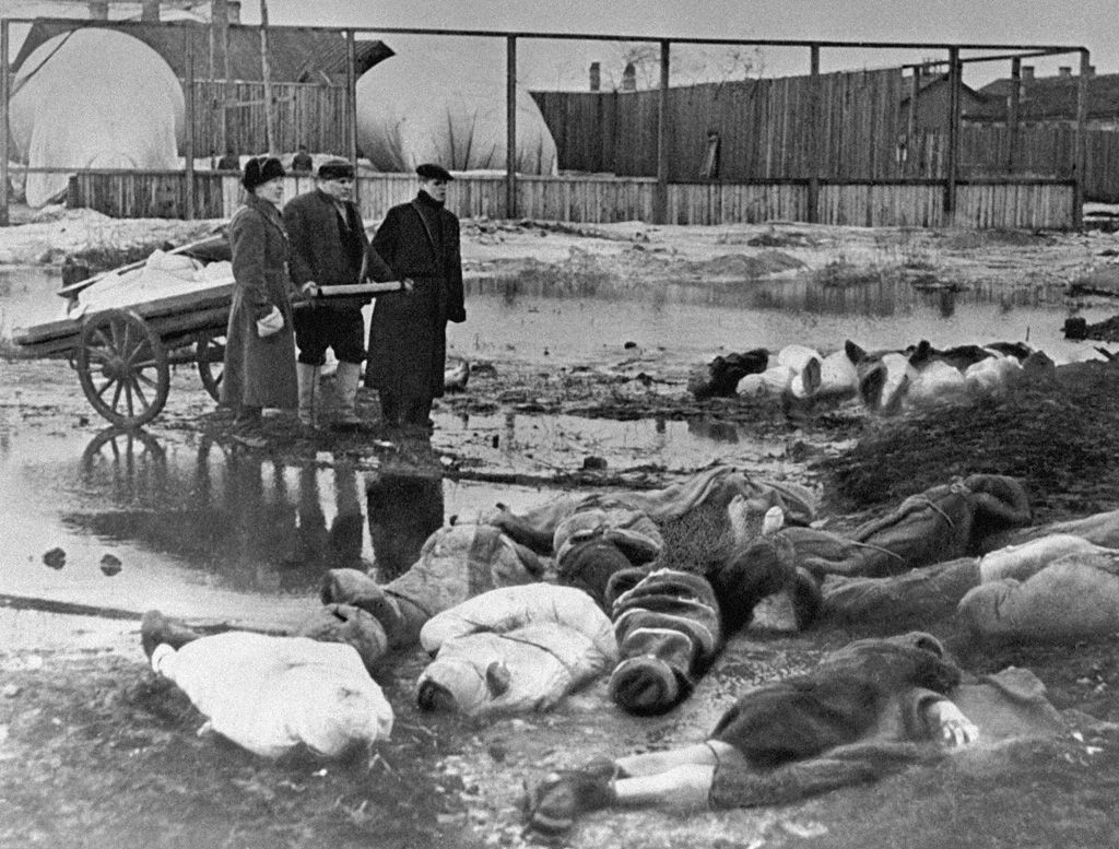 The siege of Leningrad was one of the defining battles on the eastern front