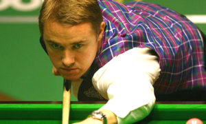 Stephen Hendry in Action
