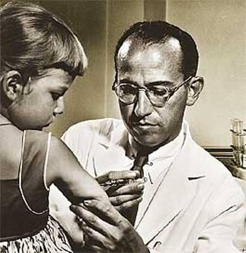 Jonas Salk's polio vaccine worked against one of the world's most devastating diseases